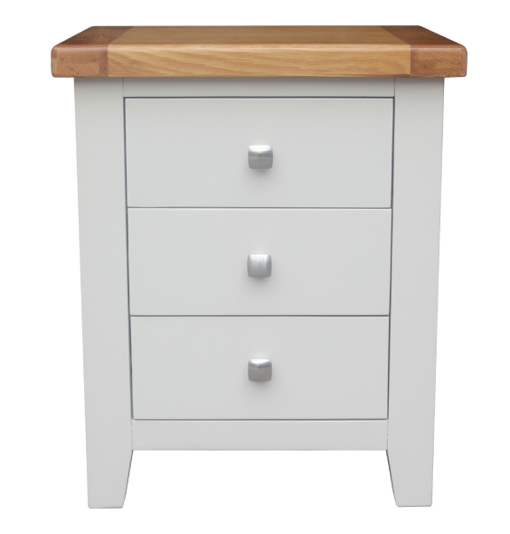 HAMPSHIRE BEDSIDE 3 DRAW
