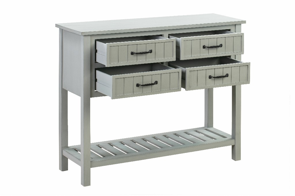 CONSOLE TABLE 4 DRAWER